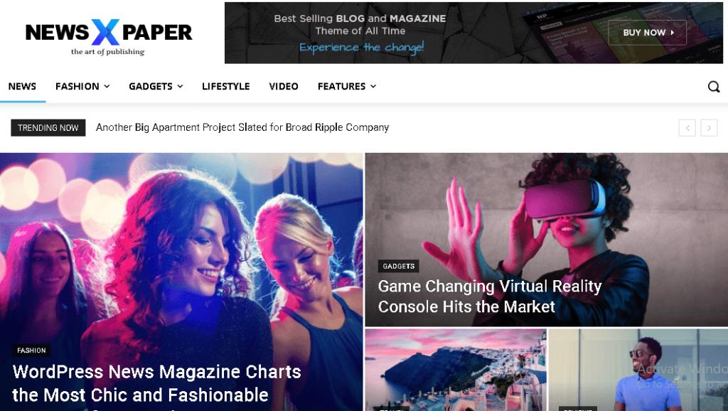 Newspaper Paid WordPress Theme
