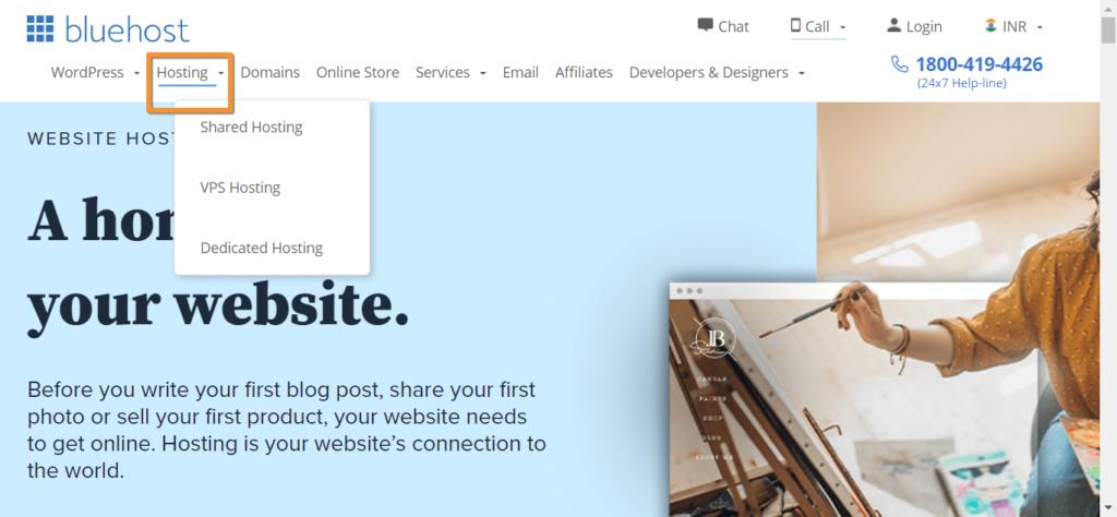 click to hosting