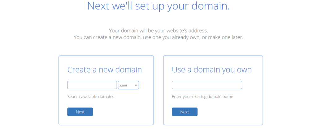 set up your domain